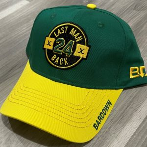 Green/Yellow Regular Snap Back Hat